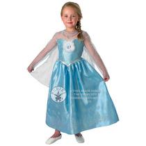 Disney Princess Cstume - Gran Edad 7-8 Años Congelado Elsa
