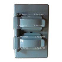 Placa De Plástico Para Intemperie Duplex Material Abs Hm4