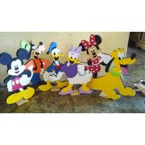 Figuras Disney Mimi,mickey,donald,daisy,pluto,goofy