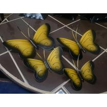 Mariposas Decorativas De Pared.