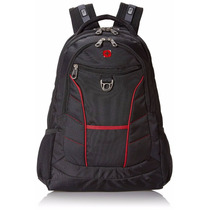 Swissgear Laptop Computer Backpack Sa1775 (black With Red Ac