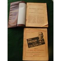 Don Porfirio Y Sus Tiempos {mateo Podan}tomos 2 Y 4,{1949}