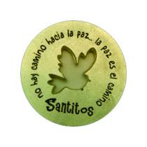 Moneda Plateada Milagrosa Paloma - Santitos