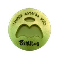 Paquete 15 Pzas Moneda Milagrosa Alas Angel - Santitos