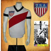 Jersey Retro Estados Unidos Old Vintage