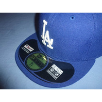Gorra Los Angeles Dodgers New Era 59fifty Oficial Juego Vbf