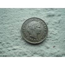 Moneda De Suiza En 10 Rappen 1943
