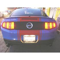 Panel Trasero Mustang 2010 Al 2012 Toma De, Emblem