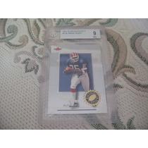 2001 Bgs 9 Mint Authority Rookie Travis Henry Rb Bills /1350
