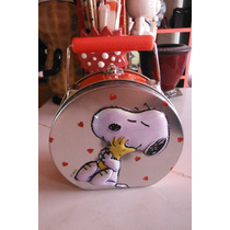 Lonchera Metalica Snoopy & Friends Retro Vintage Woodstock