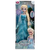 Muñeca Pelicula Frozen Elsa 16 Canta Y Luz Disney Store