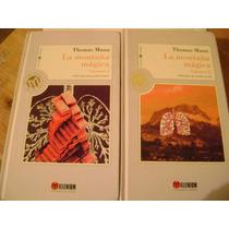 La Montaña Magica. Thomas Mann. 2 Vols. Millenium. $330.