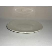 Loza Plato Cuadrado Arrocero De19.5 Cm Color Blanco
