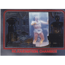 1999 Topps Starwars Chrome Archives Rejuvenation Chamber #32