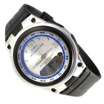 Reloj Casio Estandar Aw-82 Pesca Fases Luz Sumergible 50m