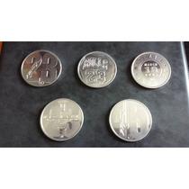 Michael Jordan 5 Monedas De Aluminio De 1995 Upper Deck Nba