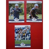 Nfl Patriots Fan 3tja Wr Lloyd/welker/gaffney Nvas Sc12
