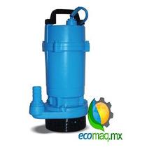 Bomba Sumergible Aguas Sucias Hasta 15mts 1/2 Hp Ecomaqmx