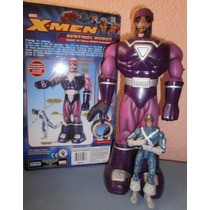 Marvel Legends Centinela, Wolverine Y Ciclope De Toy Biz