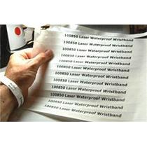 13 Bandas Brazaletes Pulseras Tyvek P/ Impresora Laser