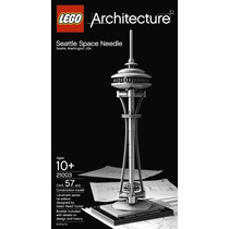 Lego Architecture , Modelo 21003, Seatle Space Needle Torre