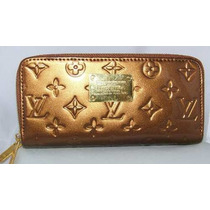 Cartera Lv Louis Vuitton Monograms Vernis Bronze