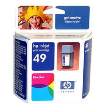 Tinta Original Hp 49 Tricolor 51649a: 350, 600, 610, 612 *lq