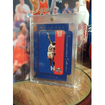 Michael Jordan Tarjeta Ud Rookie Of The Year 96-97 Vv4