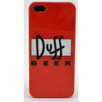 Funda Case Cerveza Duff Iphone 5/5s Hm4