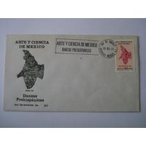 1er Dia De Emision Arte Y Ciencia Danzas Prehispanicas 1977