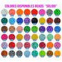Bolsa 1000 Beads Perler 60 Gramos Escoge De Entre 80 Colores