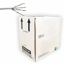 Bobina De Cable Utp Categoría 6e 305 Mts Blanco Hm4