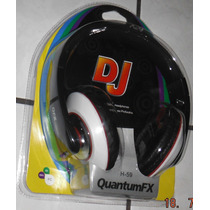 Audifono Estereo Dj Grande Para Mp3 Pc Cd Graves Importado