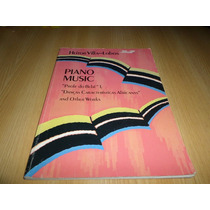 Vendo Libro Partituras De Hector Villalobos Piano Solo