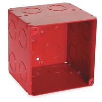 Caja Eléctrica Rojo 2 Galvanized Steel Raco