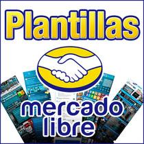 Plantillas Mercadolibre Estatica Diseño Original Paga El 50%