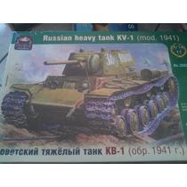 Tanque Ruso Kv1 Versio 1941 Escala 1/35 Marca Ark