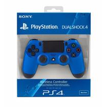 Control Sony Dualshock 4 Azul Nuevo Para Playstation 4