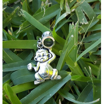 Chango Mono Simio 1 Precioso Dije De Plata Tibetana 0385