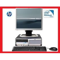 Computadoras Hp Dc7100 Dual Core,4gb Ram,80 Gb Lcd 17 Bara