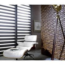 Recubrimiento Madera Mosaico Teca Muro Diseño Fachada