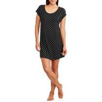Tesoros Secretos Esencial Mujeres Camiseta Cuello Sleepshirt