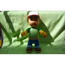 Handy Manny A Trabajar Muñeco Plastico 26cms Usado