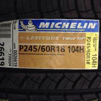 Llantas 245/60/18 Michelin Latitude Tour. Nuevas Sin Rodar.