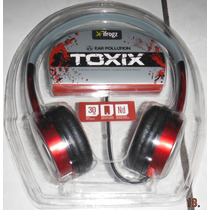 Audifono Toxix Ifrogz Para Mp3 Pc Cd Importado Rojo Y Fuscia