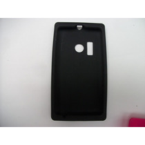 Protector Silicon Case Nokia Lumia 505 Color Negro!