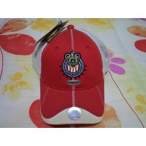 Gorra Oficial De La Fmf Chivas Del Guadalajara Etiquetada