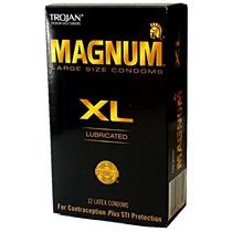 Trojan Magnum Xl Condones Preservativos Extra Largos Grandes
