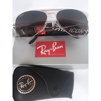 Ray Ban Aviator - 3025 001/51 Medianos 58mm Originales