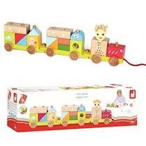 Vulli Toy Train Sophie La Jirafa